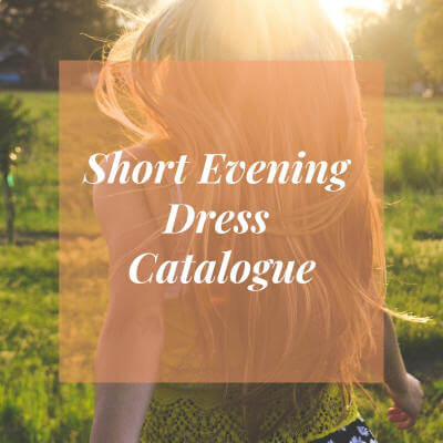 Short Evening Dresses Catalogues
