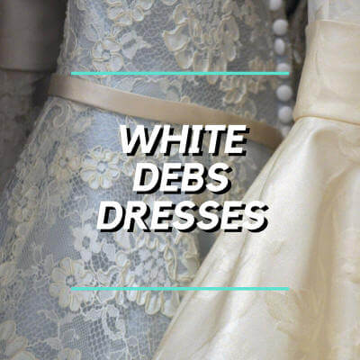 White Debs Dresses Catalogues