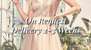 On Request Short Evening Gowns