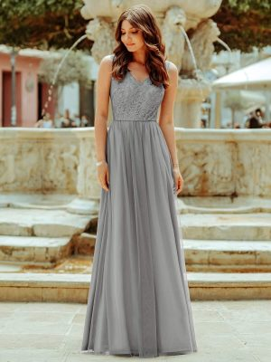 ey7509gy grey long evening gown eternally yours