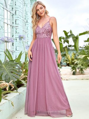 ey50090od purple pink chiffon long evening gown eternally yours
